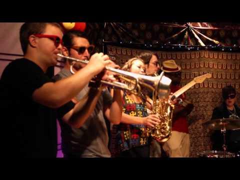 PitchBlak Brass Band - Virus (Live Video)