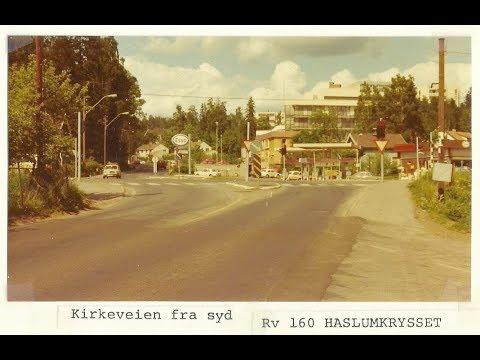 KIRKEVEIEN I BÆRUM 1976
