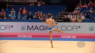 RODRIGUEZ Carolina (ESP) – 2015 Rhythmic Worlds, Stuttgart (GER), Qualifications Ball