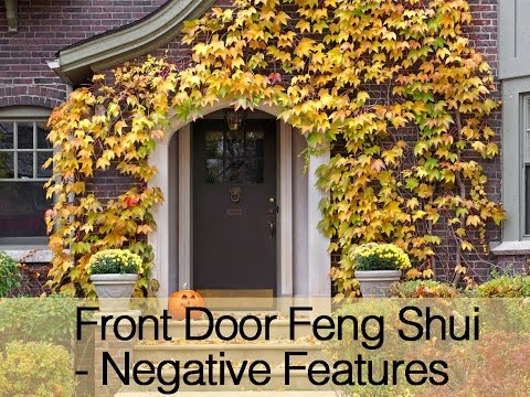 Front Door Feng Shui - Negative Features