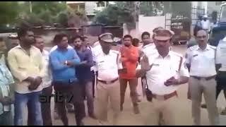 Rachakonda traffic police helmet awearness //రాచకొండ ట్రాఫిక్ పోలీసులు //