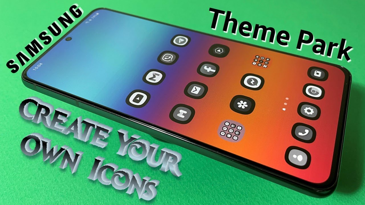 🔥 Make Your Own Samsung Icons Using Theme Park!