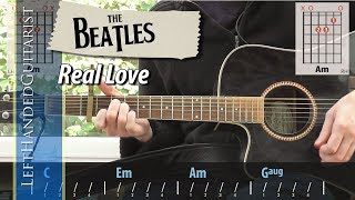 The Beatles - Real Love | guitar lesson