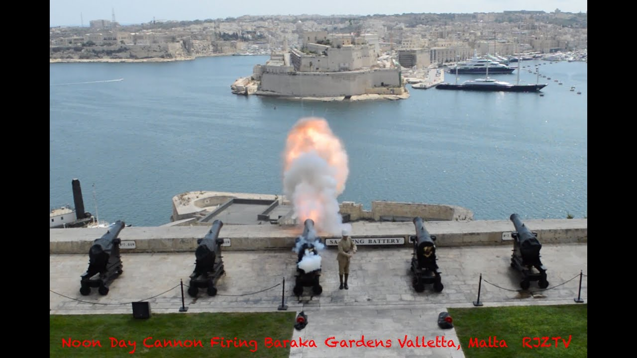 Noon Day Cannon Firing