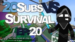 "20 Suscriptores Vs Survival| ""Mineros Unidos"" Ep20"