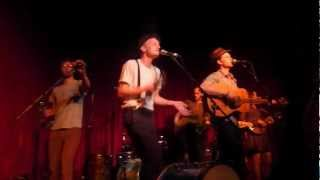 The Lumineers- Hey Ho- Hotel Cafe 3/23/12