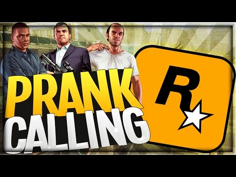 Prank Calling Rockstar Games -