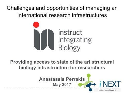 Tuesday, Session 3, Anastassis Periakis, Managing an international research infrastructures
