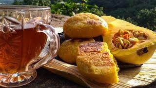 Batana | Butternut Squash Bun | බටානා බනිස් ( උදුනක් අවශ්ය නෑ )