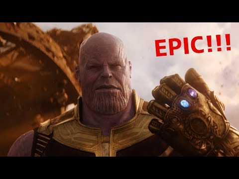 Avengers: Infinity War Teaser Trailer Reaction - Epic!!!