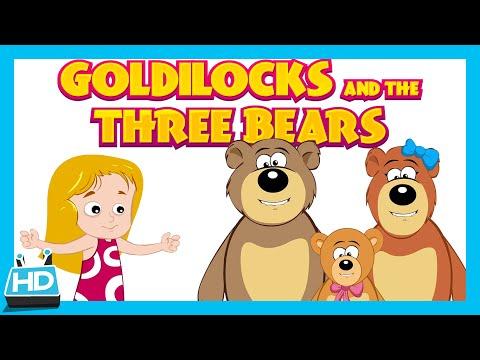 Goldilocks and The Three Bears Story | The Bear Story