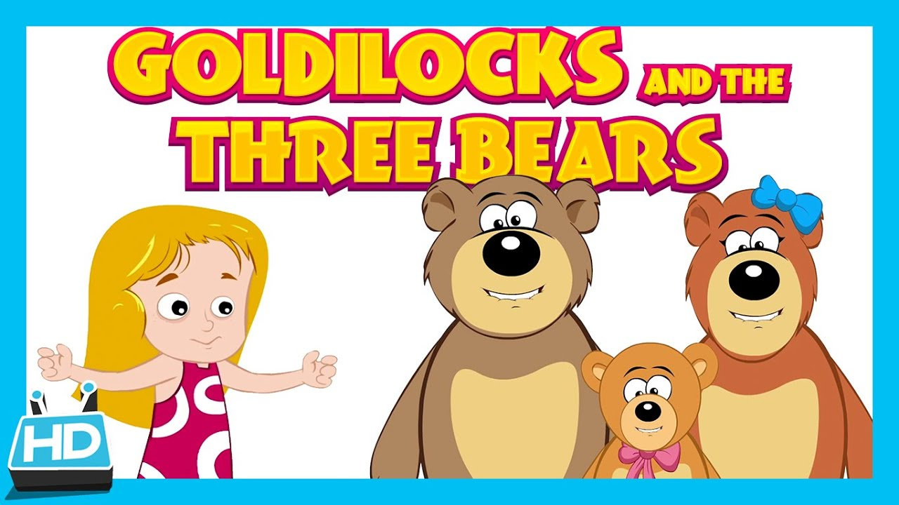 Goldilocks and The Three Bears Story | The Bear Story - YouTube