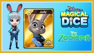 Zootopia: Judy Hopps S Card Level 25 - Disney Magical Dice Gameplay Video