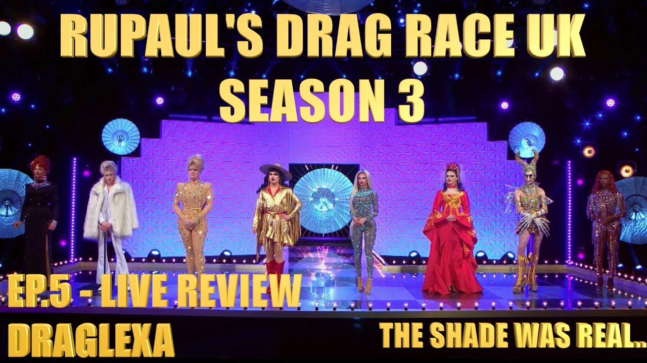 Download RuPaul's Drag Race UK Season 3 Ep.5 - Review(Live)