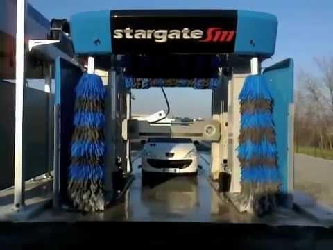 autolavaggio aquarama stargate s111 blu youtube