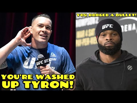 """Colby Covington GOES OFF on Tyron Woodley: """"You are WASHED UP, You DODGED a bullet not fighting me"""""""