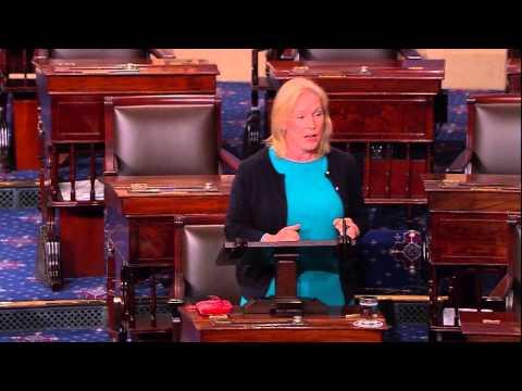 Senator Gillibrand Speaks Out Against Defunding Planned Parenthood