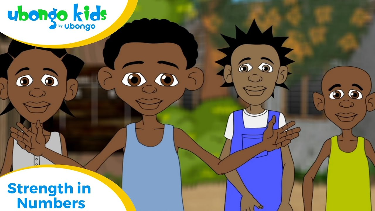 Full Episode #5: Strength in Numbers| Ubongo Kids | Educational Cartoons from Africa