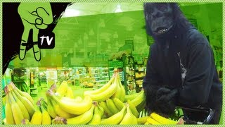 Gorilla Grocery Store Prank - Blow Up Guys Ep. 22