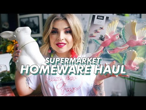 Supermarket Homeware Haul