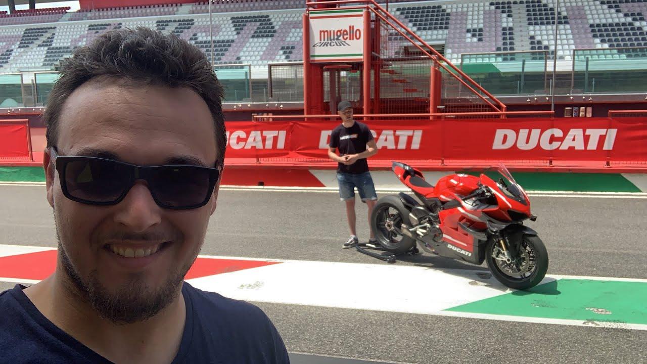 Live aus Mugello mit der Ducati V4 Superleggera