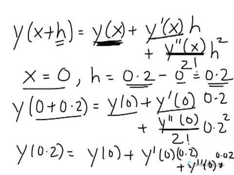 Using Taylor Polynomial to Approximately Solve Ordinary