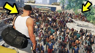 GTA 5 - ARMY vs. Zombie Apocalypse!! (Epic Battle)