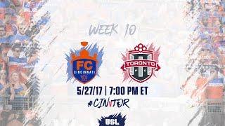 FC Cincinnati vs Toronto FC USL full match