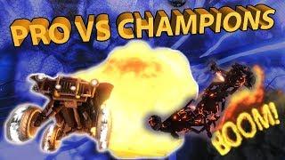 1 RLCS PRO VS 2 CHAMPIONS? 1v2 Gamemode