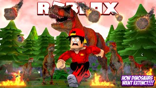 ROBLOX - WHAT REALLY HAPPENED THE DINOSAURS?!