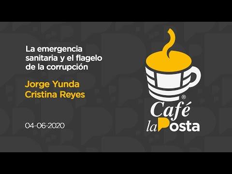 Café la Posta: Jorge Yunda y Cristina  Reyes