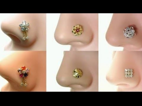 Latest Nosepin Ring Designs Nose Stud Designs Pretty Little Nose