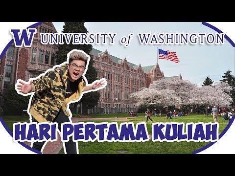 GINI RASANYA KULIAH DI TOP 10 UNIVERSITY DI DUNIA! - UNIVERSITY OF WASHINGTON!