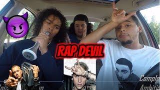 MACHINE GUN KELLY - RAP DEVIL (EMINEM DISS) REACTION REVIEW