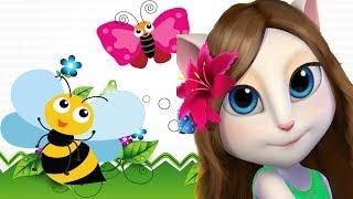 Angela đọc bài thơ Ong và Bướm - thơ hay cho trẻ mầm non
