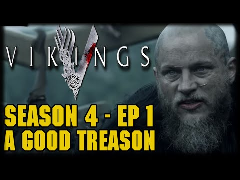 "Vikings Season 4 Episode 1 ""A Good Treason"" Post Episode Recap and Review"