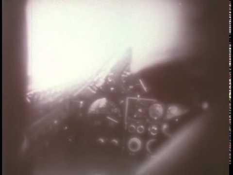 X-2 Flight #20 Cockpit Footage