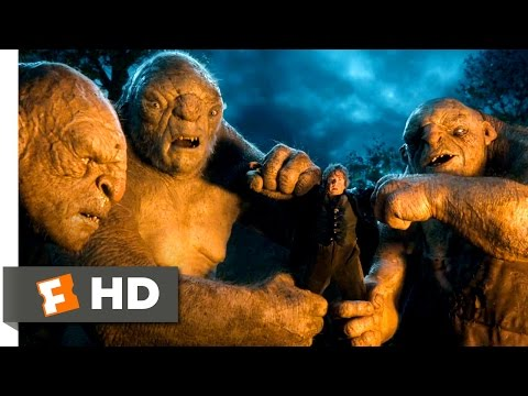 The Hobbit: An Unexpected Journey - Battling the Trolls Scene (5/10) | Movieclips