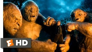 The Hobbit: An Unexpected Journey - Battling the Trolls Scene (5/10) | Movieclips thumbnail