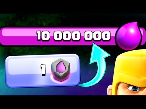 10,000,000 ELIXIR IN 1 SECOND!? - Clash Of Clans - BEST MAGIC ITEM!