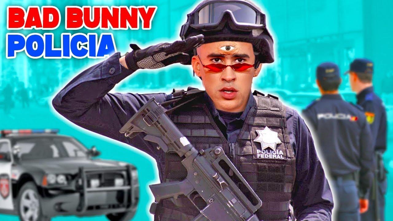 SI BAD BUNNY FUERA POLICIA