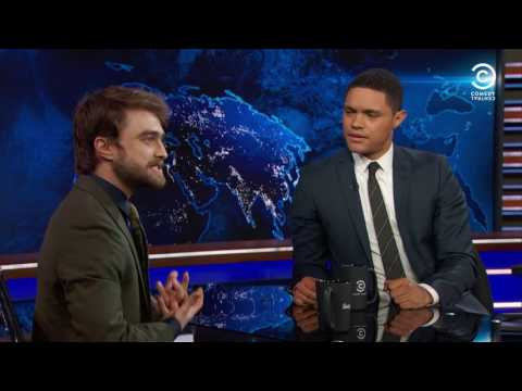 The Daily Show: Daniel Radcliffe Still Loves Harry Potter