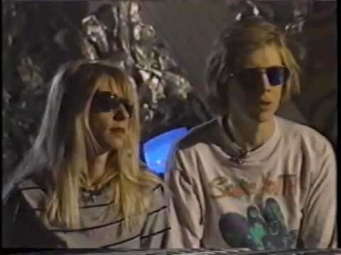 Sonic Youth - Interview Toronto,  1991
