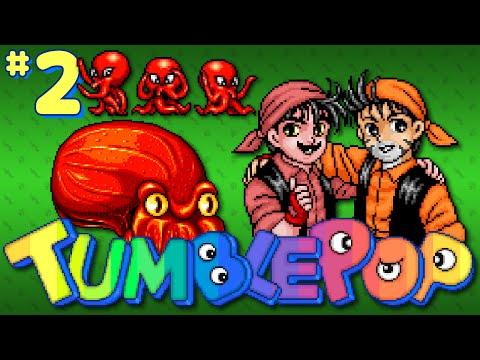 Tumblepop (Arcade) - Part 2: Grumblestop - Octotiggy