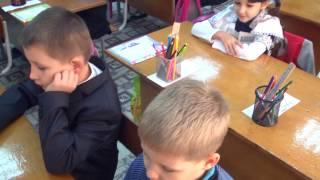 Дейнега Ірина Миколаївна. Відкритий урок ( математика 1 клас).