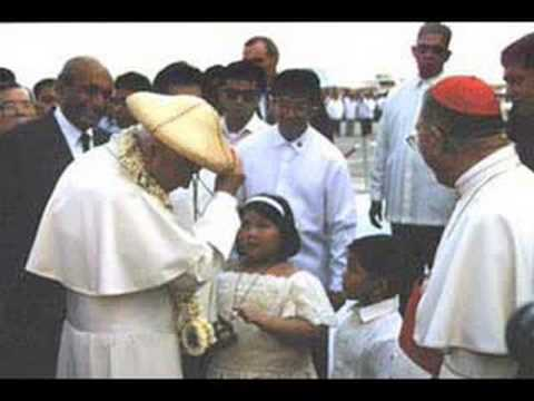 Tell The World of His Love World - Youth Day (1995) Carelle Mangaliag and Jeff Arcilla
