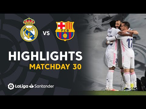 Highlights Real Madrid vs FC Barcelona (2-1) - LaLiga Santander