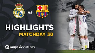 Highlights Real Madrid vs FC Barcelona (2-1)