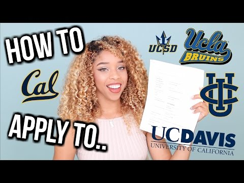 How To Apply / Transfer To UCLA, Berkeley, UCI & UCSB! 📚