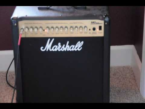 Goede Marshall MG50dfx (not mg50fx) - YouTube DS-41